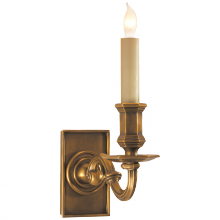 Visual Comfort CHD 1175AB - EFC Library Wall Sconce in Antique-Burnished Bra