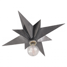 Visual Comfort SC 4000AS - Star Flush Mount in Antique Silver