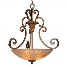Golden 9072-63 RB - Marquis 2 Tier Chandelier in the Roman Bronze