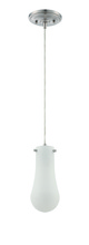 Jeremiah P470CH-LED - LED Mini Pendant with Cord in Chrome