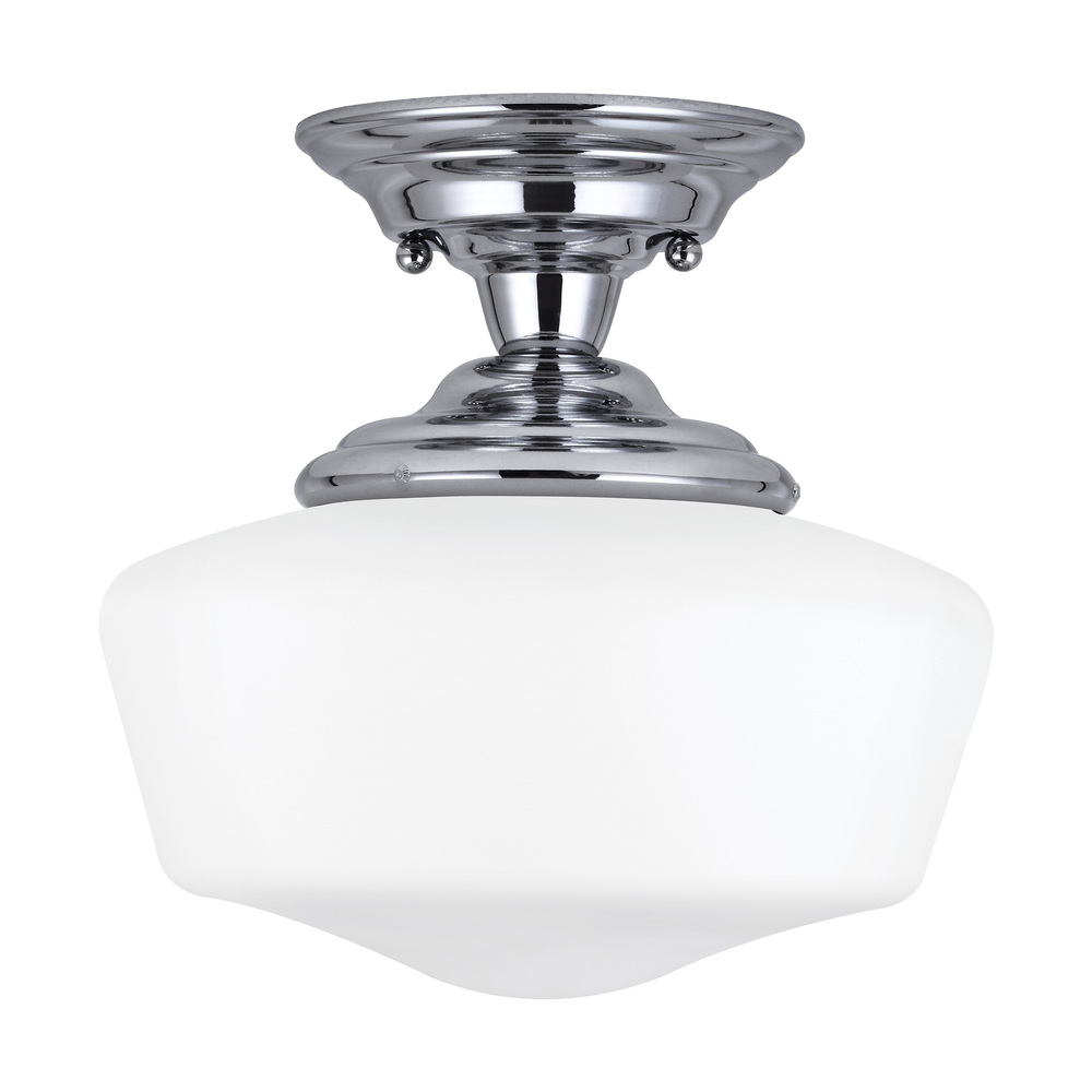Lighting Etc. in North Richland Hills, Texas, United States, Sea Gull 7743691S-05, Medium LED Semi-Flush Mount, Academy