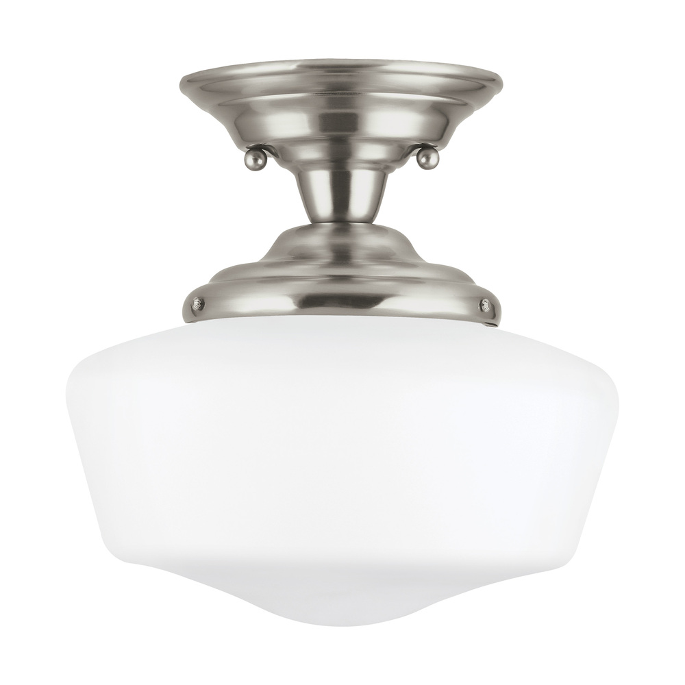 Lighting Etc. in North Richland Hills, Texas, United States, Sea Gull 77436-962, One Light Semi-Flush Mount, Academy