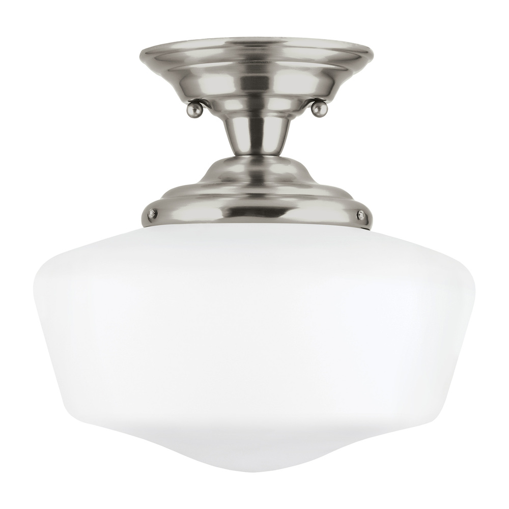 Lighting Etc. in North Richland Hills, Texas, United States, Sea Gull 77437-962, Large One Light Semi-Flush Mount, Academy
