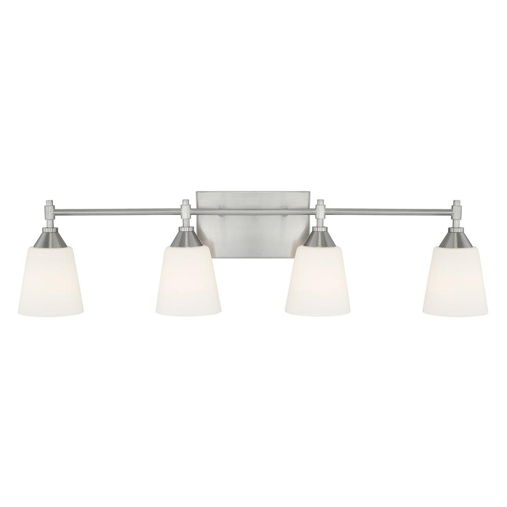 Lighting Etc. in North Richland Hills, Texas, United States, Capital 113741BN-329, 4 Light Vanity, Langley