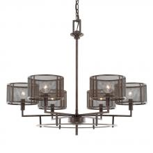 Capital 411161RS-653 - 6 Light Chandelier
