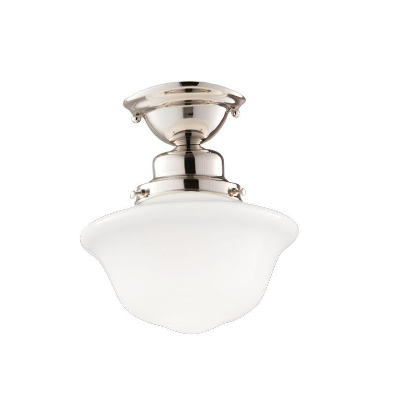Lighting Etc. in North Richland Hills, Texas, United States, Hudson Valley 1609F-PN, 1 Light Semi Flush, Edison Collection