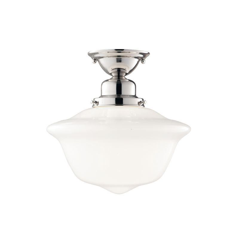 Lighting Etc. in North Richland Hills, Texas, United States, Hudson Valley 1612F-PN, 1 Light Semi Flush, Edison Collection