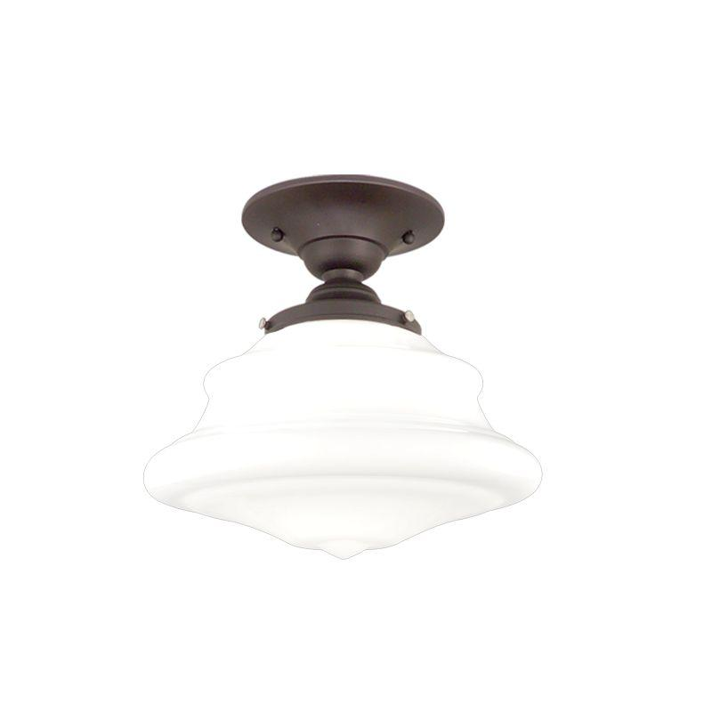Lighting Etc. in North Richland Hills, Texas, United States, Hudson Valley 3409F-OB, 1 Light Semi Flush, Petersburg
