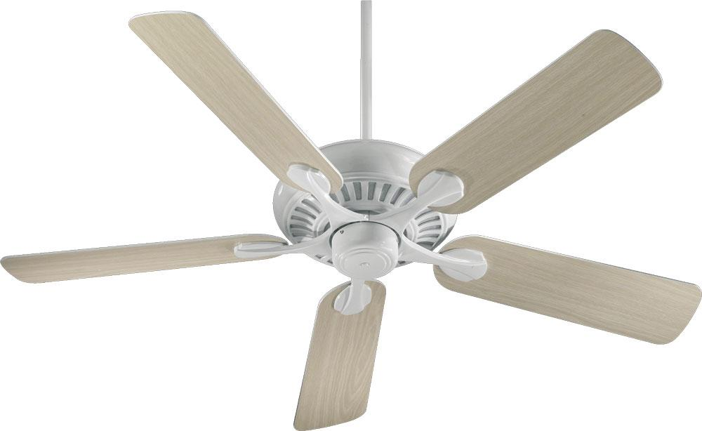 "Lighting Etc. in North Richland Hills, Texas, United States, Quorum 91525-6, 52"" 5BL PINNACLE FAN - WH, Pinnacle"