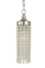 Framburg 2951 BN - 1-Light Brushed Nickel Penelope Pendant