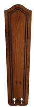 "Fanimation B5131RC - 22"" CARVED BULGE FRAME WOOD BLADE SET , RICH COGNAC -"