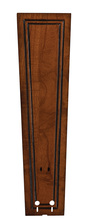 "Fanimation B5132RC - 22"" CARVED RECTANGLE FRAME WOOD BLADE SET , RICH CO -"