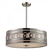 ELK Lighting 10125/5 - Zarah 5 Light Pendant In Polished Nickel