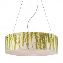 ELK Lighting 19043/5 - Modern Organics-5-light Pendant In Green Sawg