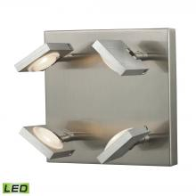 ELK Lighting 54013/4 - Reilly 4 Light Wall Sconce In Brushed Nickel And