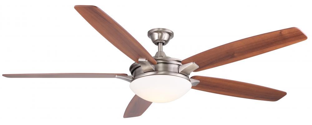Wind River Wr1466n Novato Nickel 70 Inch Ceiling Fan